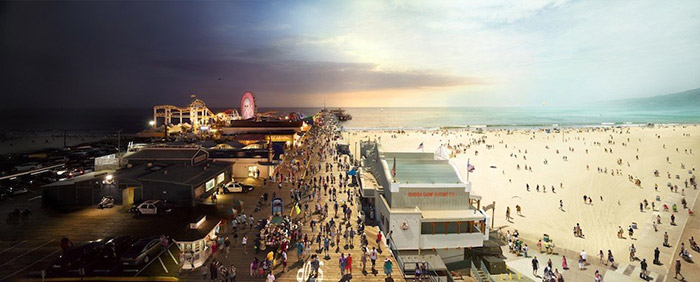 Day-and-Night-12-Santa-Monica-Pier-CA
