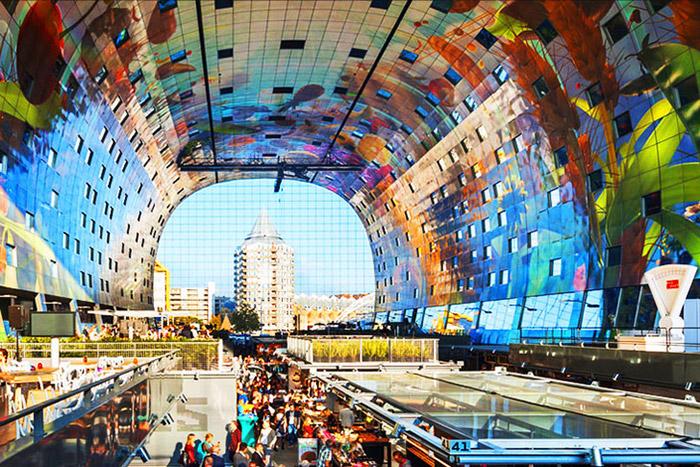 MVRDV-Rotterdam-Markt-Interior